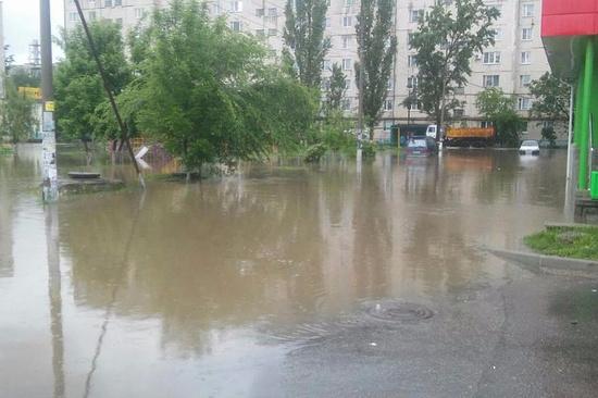 НаСтаврополье число затопленных домов возросло в 5 раз— Зона бедствия