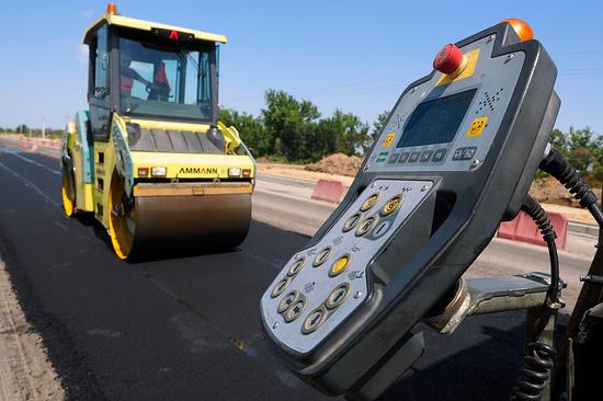 НаСтаврополье дороги будут ремонтироваться потехнологии «Сларри сил»